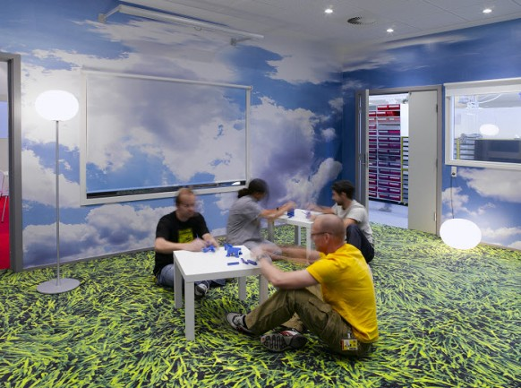 Beautiful Offices of LEGO