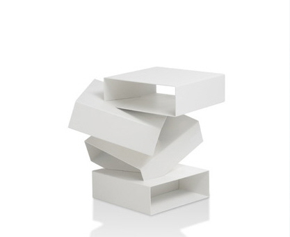 Cool Balancing Boxes Bedside Table from Porro Furniture